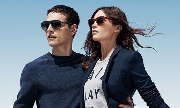 Стильные солнцезащитные очки для мужчин и женщин lacoste