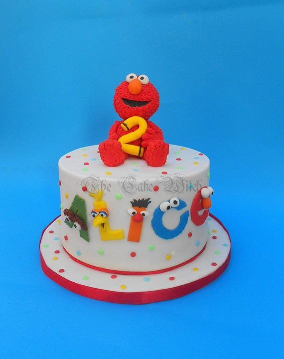 elmo birthday cake 17 best images about sesame cakes on 3882