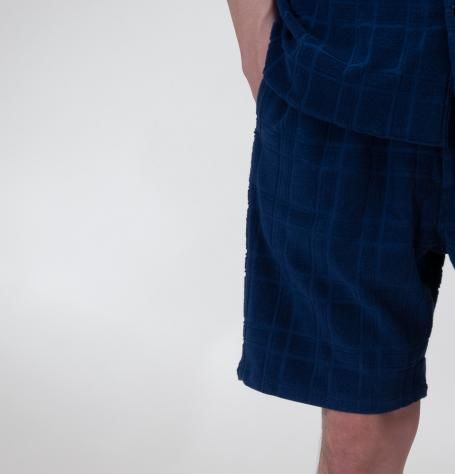 THE PILE SHORTS(BLUE) - SON OF THE CHEESE ONLINE SHOP