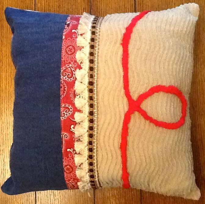 O Ring Cushions Homemade