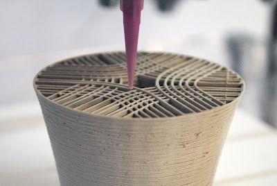 EXPERIMENTATION - CERAMIC 3D PRINTING: Unfold ~fab: print, print, print...