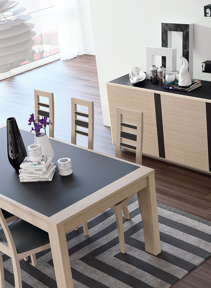 Wooden & ceramic table by Ernest Menard | Made in France | 10 years guarantee. www.ernest-menard.fr