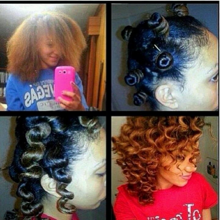 Bantu knots how to - definitely will be trying these again!!