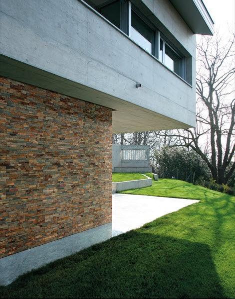 natural stone facade cladding ESTRATOS OXIDO DUNE