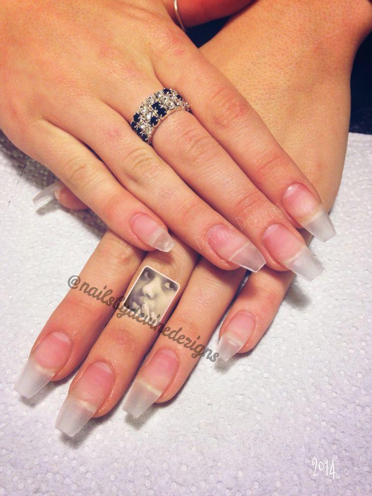 Foundation :) acrylic nails clear acrylic nail tips ballerina nails ...