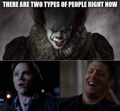 Exactly - 1) Spnfans who know how to kill this fucker 2) nonSpnfans and Sam Winchester