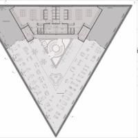 1000 images about triangle architecture on pinterest for Architecture triangulaire