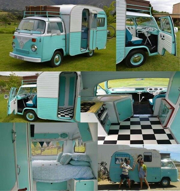 I don't know if this is a conversion or something Volkswagen actually made but I would love to have one!