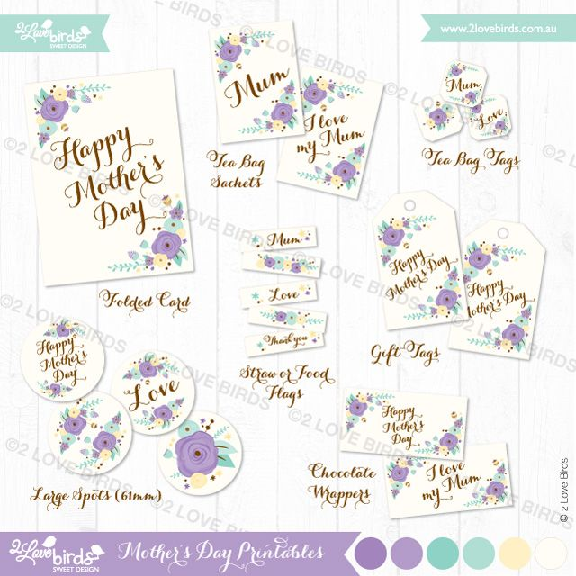 Rustic Mauve and Mint Mother's Day Celebration | 2 Love Birds #MothersDay, #Mum, #mom #printables, #sweet, #2lovebirdsblog #2lovebirds #2lovebirdssweetdesign