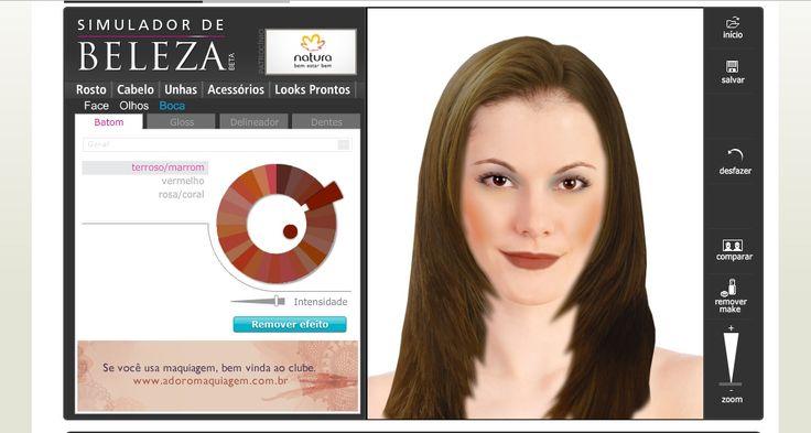 simulador de cabelo e maquiagem 1