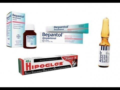 Receita completa de Bepantol+Hipoglos+Arovit