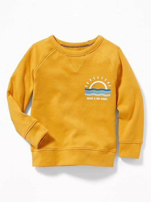 e35b85f575 Graphic Crew-Neck Raglan Sweatshirt for Toddler Boys in 2019 | Baby's list  | Sweatshirts, Crew neck, Toddler boy outfits