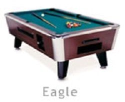 Non-Coin Operated - 650HE - 6.5 Ft.Eagle Home Pool Table