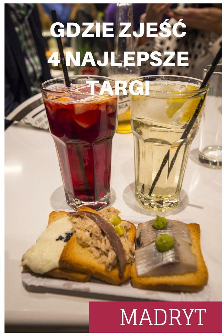 Nasze absolutne faworyty - gdzie zjeść w Madrycie. Najsmaczniejsze miejsca w mieście - w końcu to targi! #Madryt #targi #Hiszpania #mercado #gdziezjeść #blogipodróżnicze #podróże #kuchnieświata #podróżekulinarne