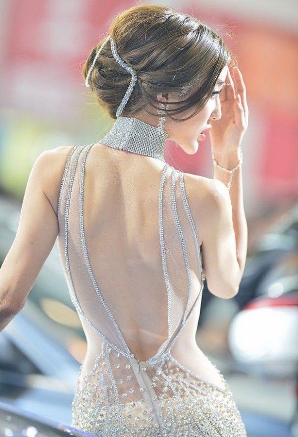 Li Ying Zhi, one of China's most popular models