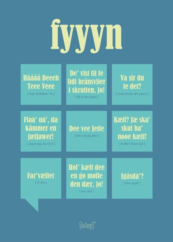 Fyyyn Poster from Dialægt