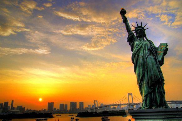 Odaiba Statue of Liberty – Tokyo, Japan | Atlas Obscura