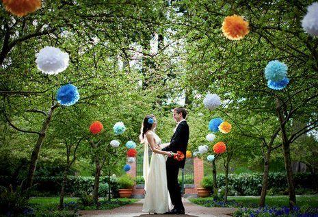 Pompones para matrimonio  TP