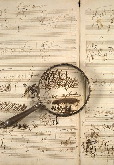 Beethoven's manuscript for his Violin and Piano Sonata, op. 96 in G major, purchased by Pierpont Morgan in 1907