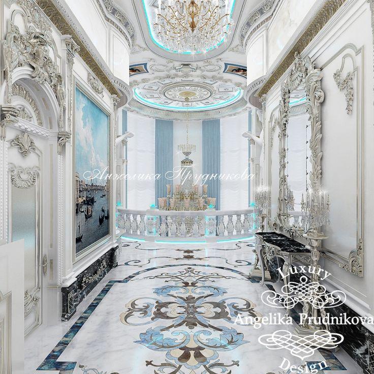 Галерея холла - Дизайн дома