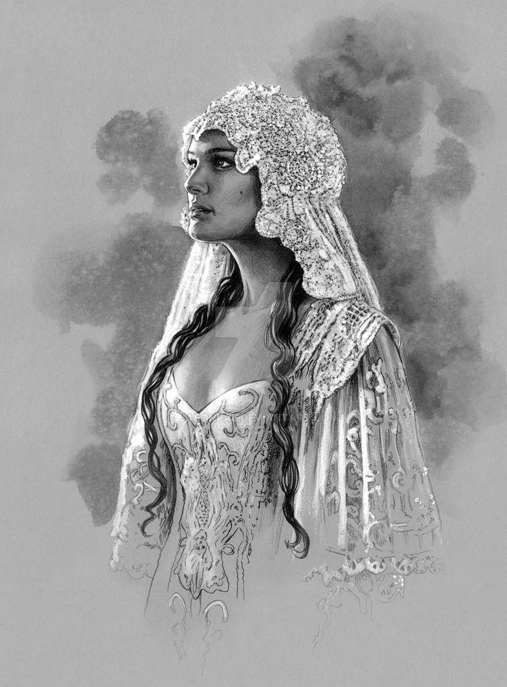 Padme -Wedding Gown by jasonpal.deviantart.com on @DeviantArt
