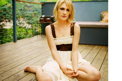 Emily Haines of Metric. I want to be just like her when I grow up.