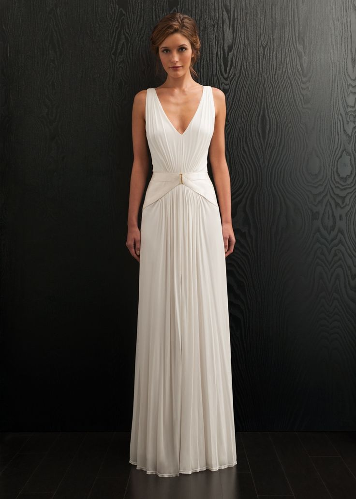 Alexis Wedding Dress, Amanda Wakeley Designer Collection #Bridaltribe #Weddings #Dresses