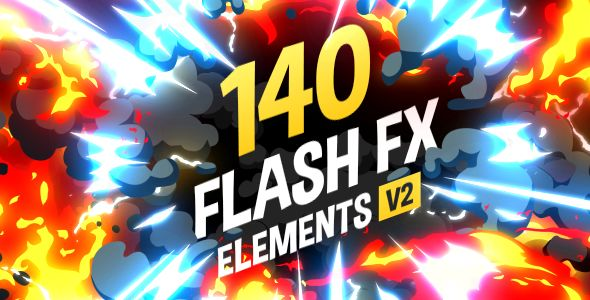 140 Flash FX Elements by Recarto | VideoHive
