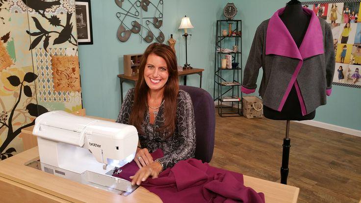 Canada Goose vest replica price - 1003-1 Angela Wolf sews a fleece jacket on It's Sew Easy | Cucito ...