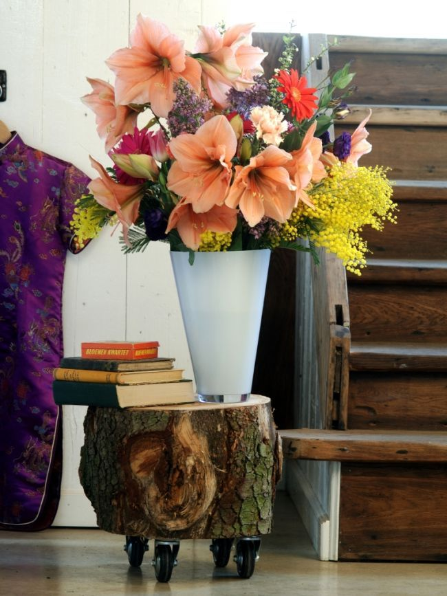 Spring bouquet with Amaryllis