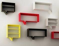 estantes / repisas / cubos flotantes en fibrofacil mdf (diy muebles repisas)