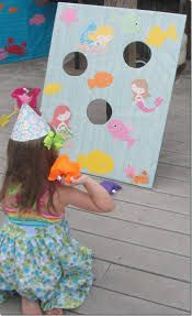 Image result for mermaid party games and activities