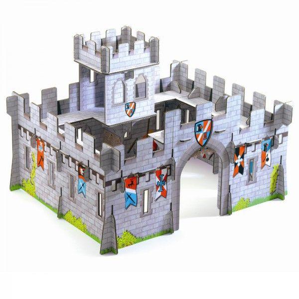 pop to play burg djeco djeco spiele spielsachen mittelalterliche burg ritterburg und. Black Bedroom Furniture Sets. Home Design Ideas