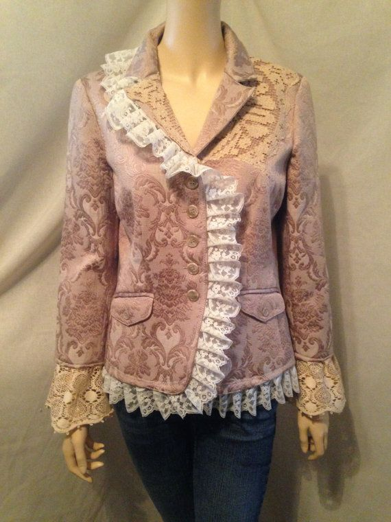 Hey, I found this really awesome Etsy listing at https://www.etsy.com/listing/214700226/lagenlook-upcycled-jacket-victorian
