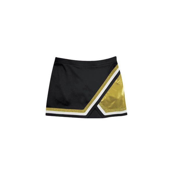 Edge Metallic A-Line Panel Cheer Skirt - 421PSM ❤ liked on Polyvore featuring skirts, cheerleaders, cheer, sport, bottoms, button skirt, straight skirt, sports skirts, knee length a line skirt and sport skirt