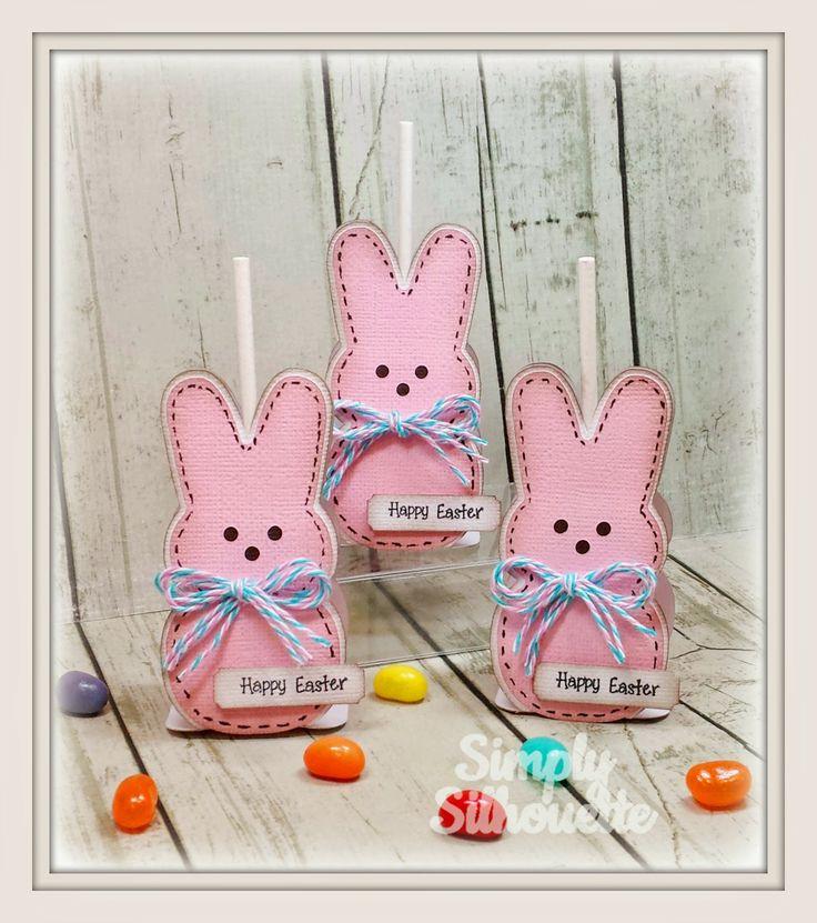 Simply Silhouette: Bunny Lollipop Holders