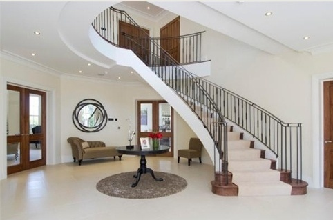 Breathtaking Entrance Hall And Stair Renovation Pictures - Simple ...
