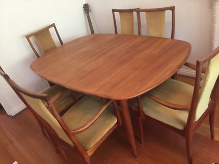 Genuine Parker Mid Century Dining Table Extendable
