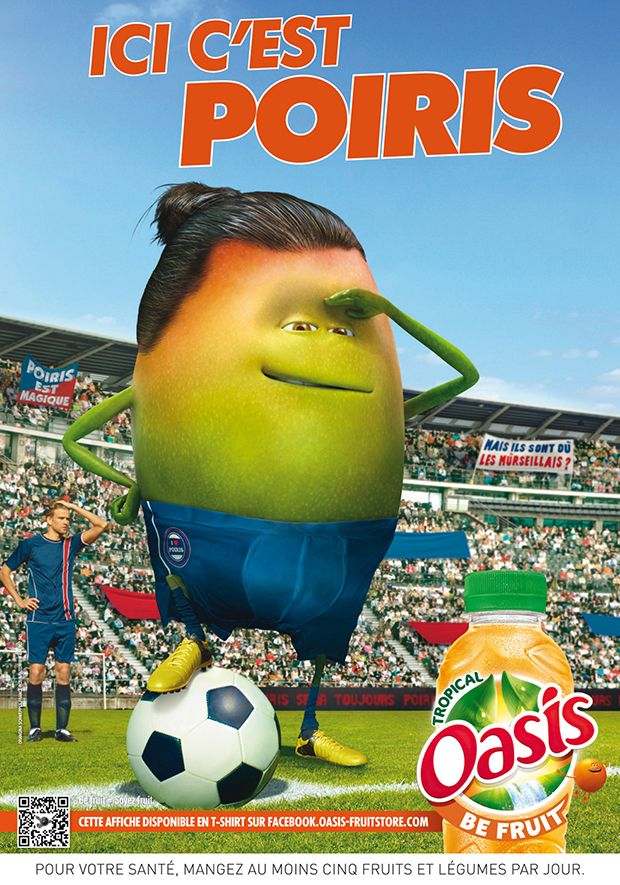 Oasis Be Fruit - Campagne Avril 2013