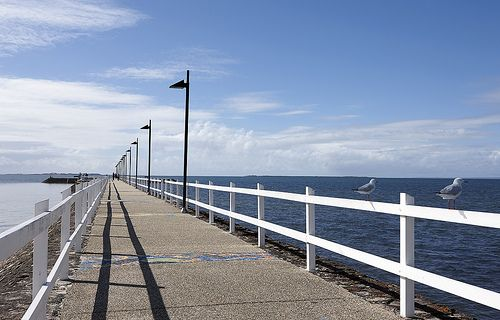 A stunning #Brisbane day at Wynnum Pier close to Wynnum Wading Pool Park. Have you been?