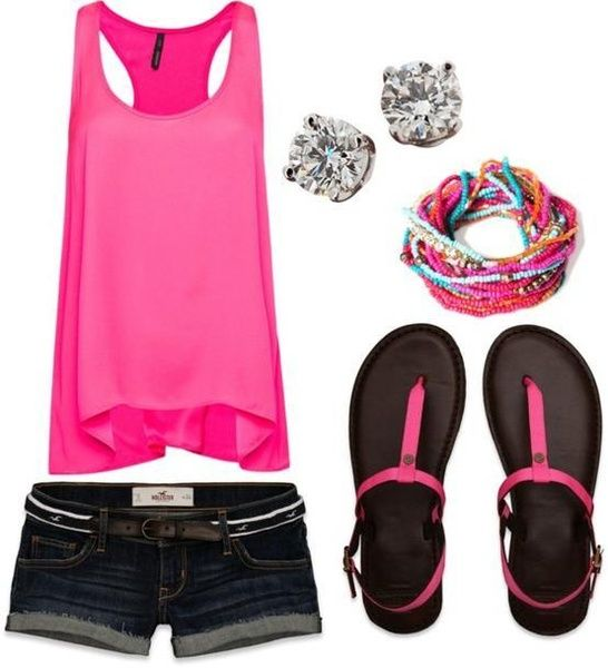 'Bright Pink Outfit' on Wish