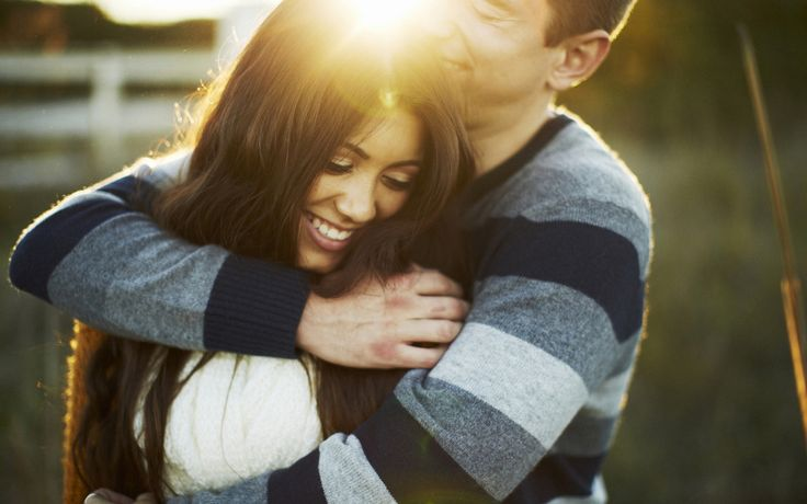 """All Week We Are Celebrating """"The Power of Touch"""": Wrap Your Arms Around Your Partner Today. #Intimacy"""