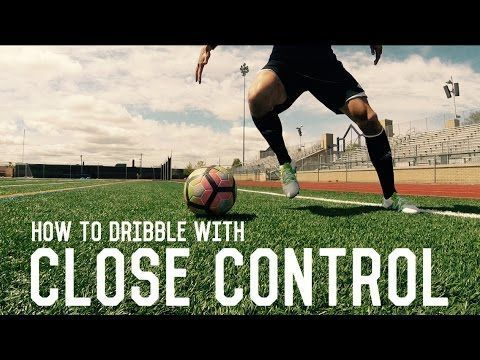 How To Dribble Like Messi | Close Control Dribbling | Fundamental Dribbling Technique Tutorial - YouTube