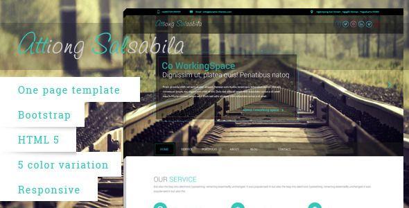 Salsabila One Page - Portfolio Creative