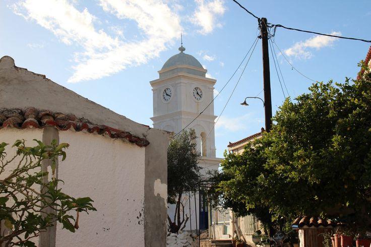 Poros, la tour de l'horloge