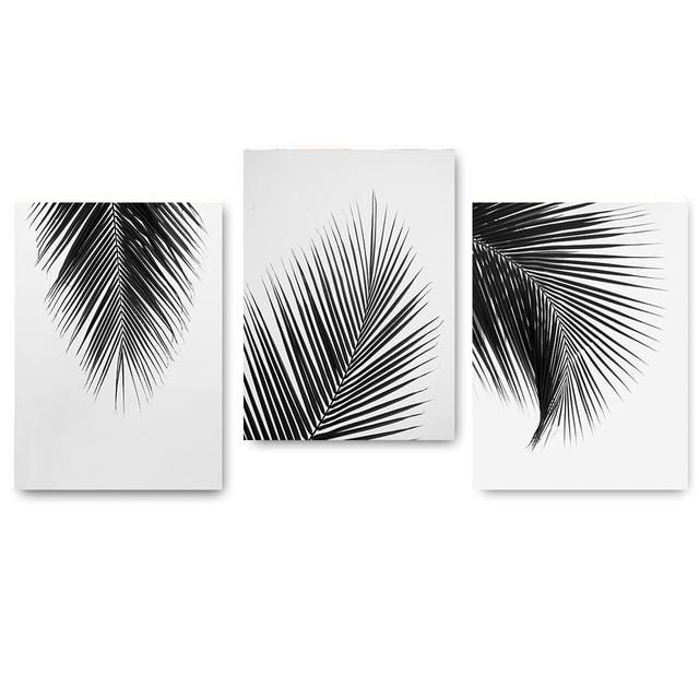 Wall Canvas Art Canvas Print Waterproof Ink Perfect Solution For Small Or Large Spaces Home Or Moder Diy Canvas Art Black And White Wall Art White Wall Art
