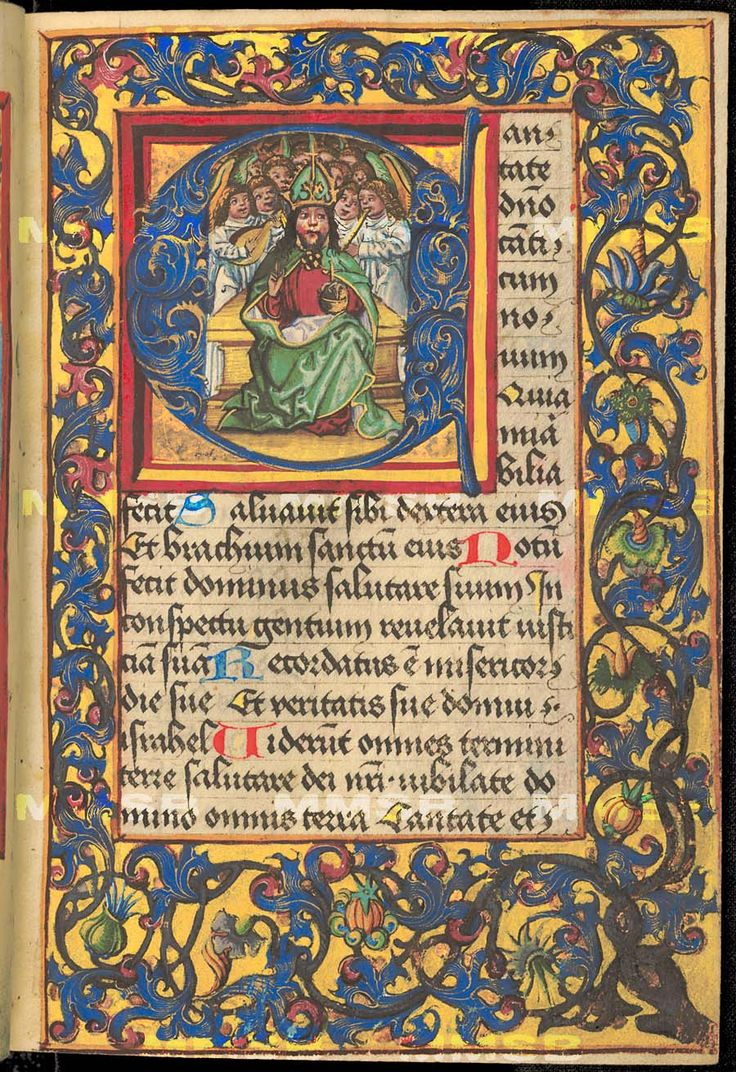 illuminated manuscripts of the essay Title : neo-gothic illuminated manuscript on vellum published in belgium, c 1890 size : 61 x 39 inches / 155 x 100 cm colouring : in original.