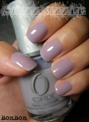 Lavender Nail Polish. Orly- Bon Bon.    you had me at lavender :D<3