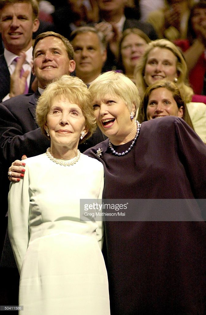 Nancy And Maureen Reagan At GOP Convention Pictures   Getty Images