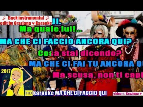 MA CHE CI FACCIO QUI Mina e Celentano karaoke Playback instrumental wav ...